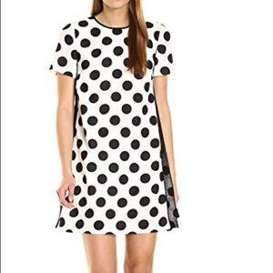 Polka Dot Blake and Ivory shift dress